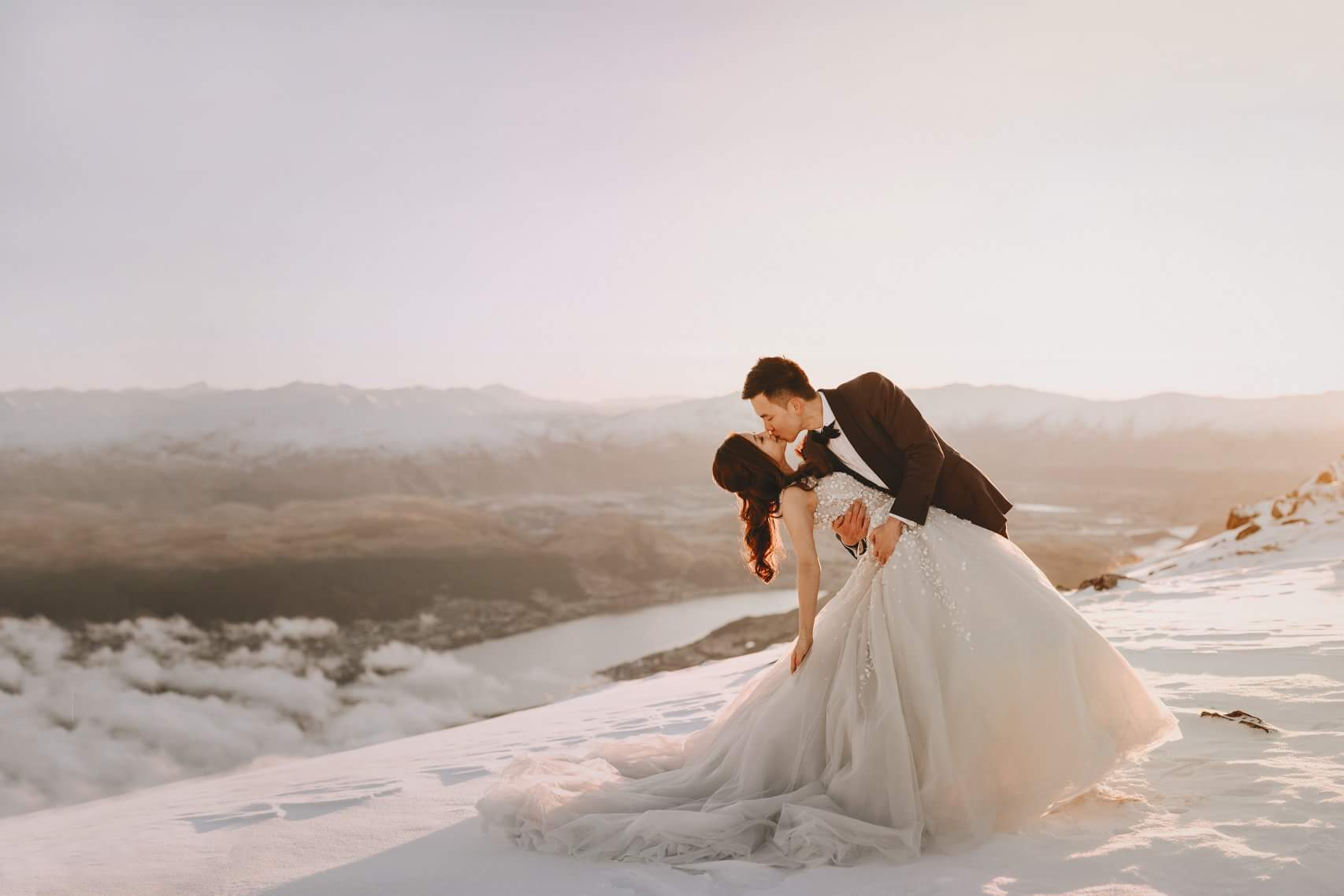 Bride and Groom - Mountain