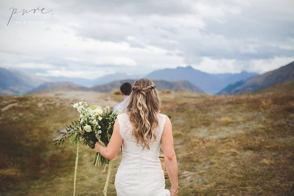 Wedding Day Hair, bridal hair