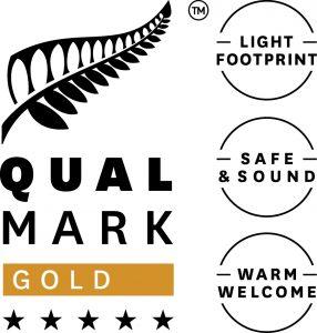 Qualmark 5 Star Gold Award