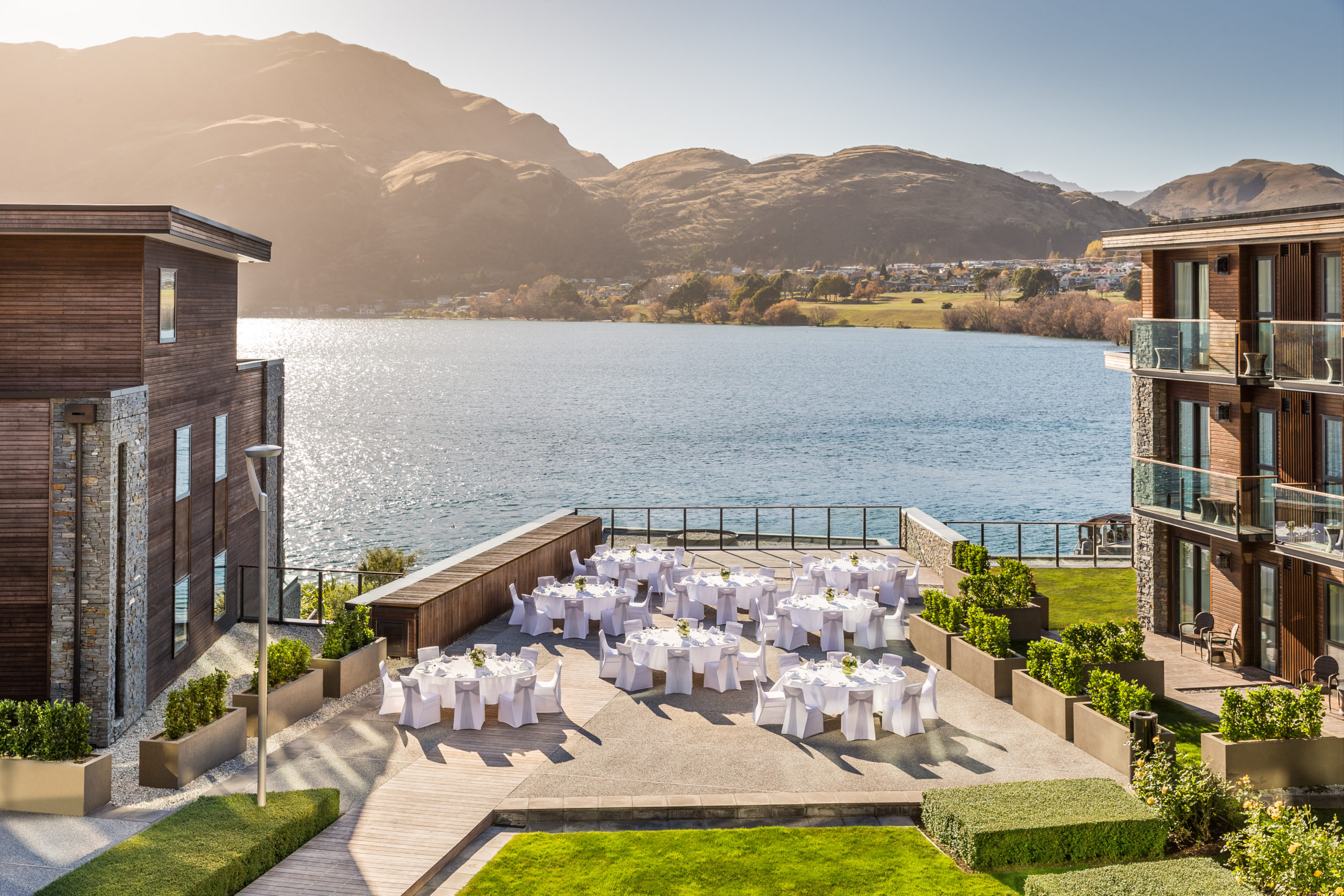 Terrace Wedding - The Hilton Resort and Spa