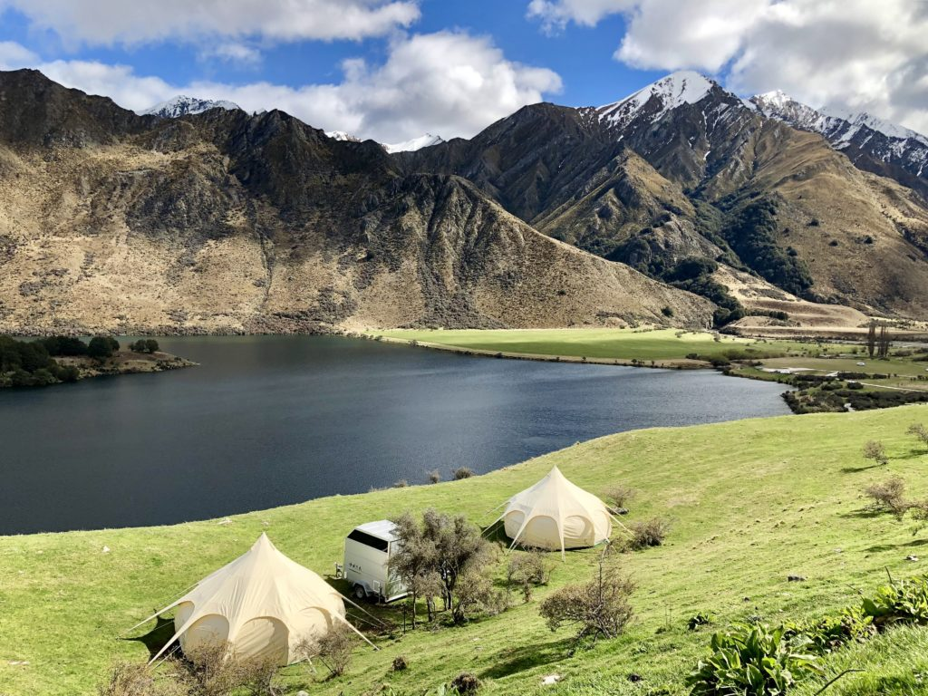 queenstown wedding accommodation glamping