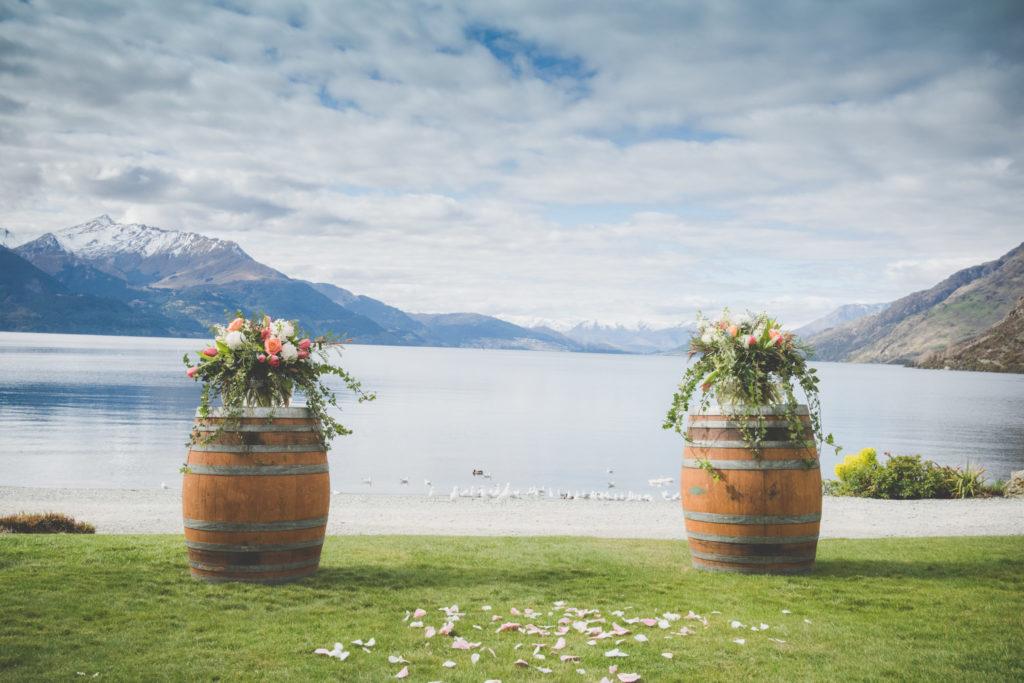 Walter Peak Floral Wine Barrels