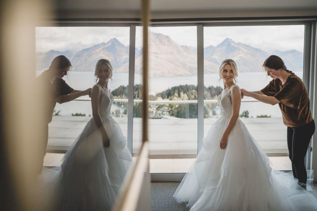 Williams Photography Queenscliff Bride in Dress