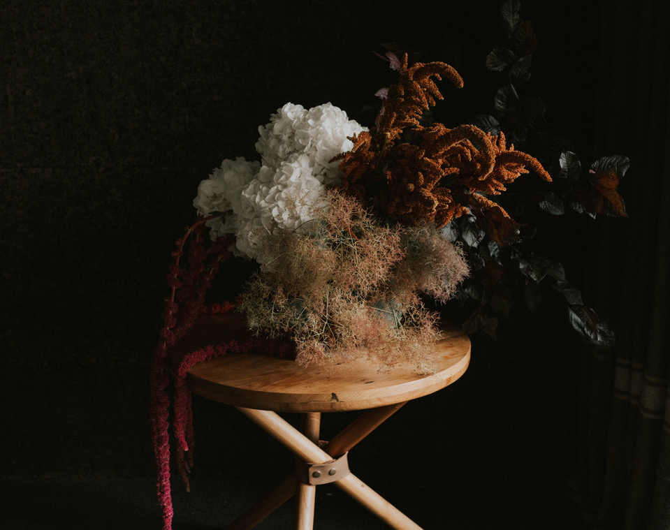 Kate Roberge Sherwood Floral Styled Shoot